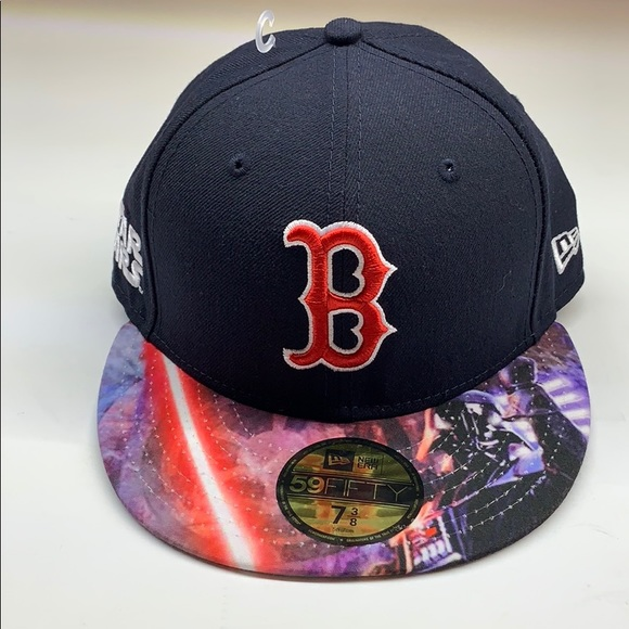 promo code 1d6e3 cf523 Boston Red Sox Star Wars Unique MLB Hat